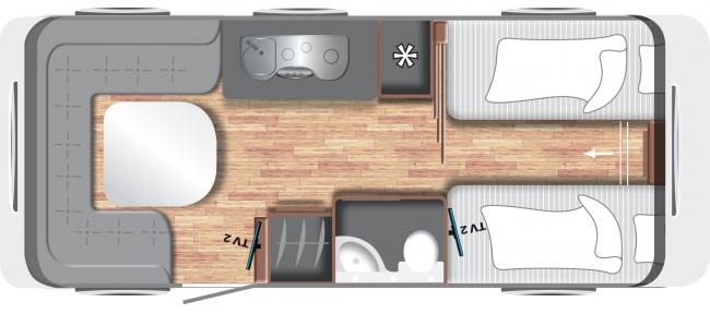 Пример планировки интерьера