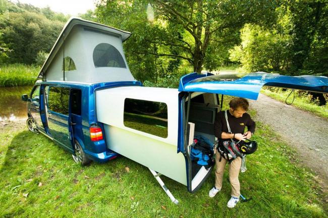 Volkswagen Transporter - прекрасный и доступный вариант для семейных путешествий