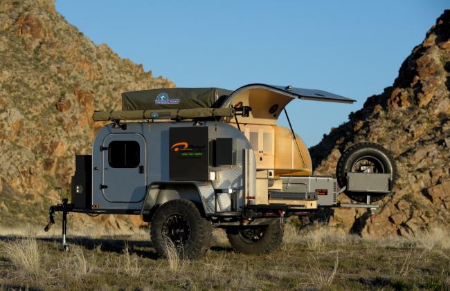 Прицеп-палатка Moby1 XTR Teardrop