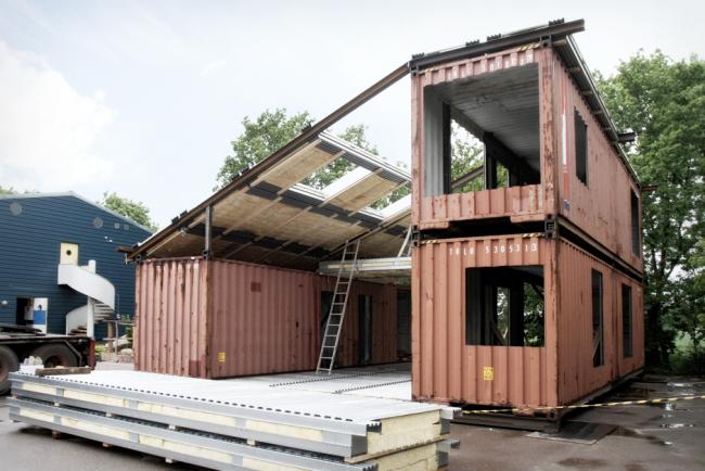 Дом из контейнеров позволит воплотить в реальность ваши дизайнерские фантазии