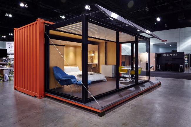 Дом из контейнеров можно построить своими руками или купить уже готовый