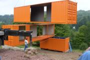 Фото 19 Оригинальные и функциональные дома из морских контейнеров: разрушаем мифы о контейнерном жилье