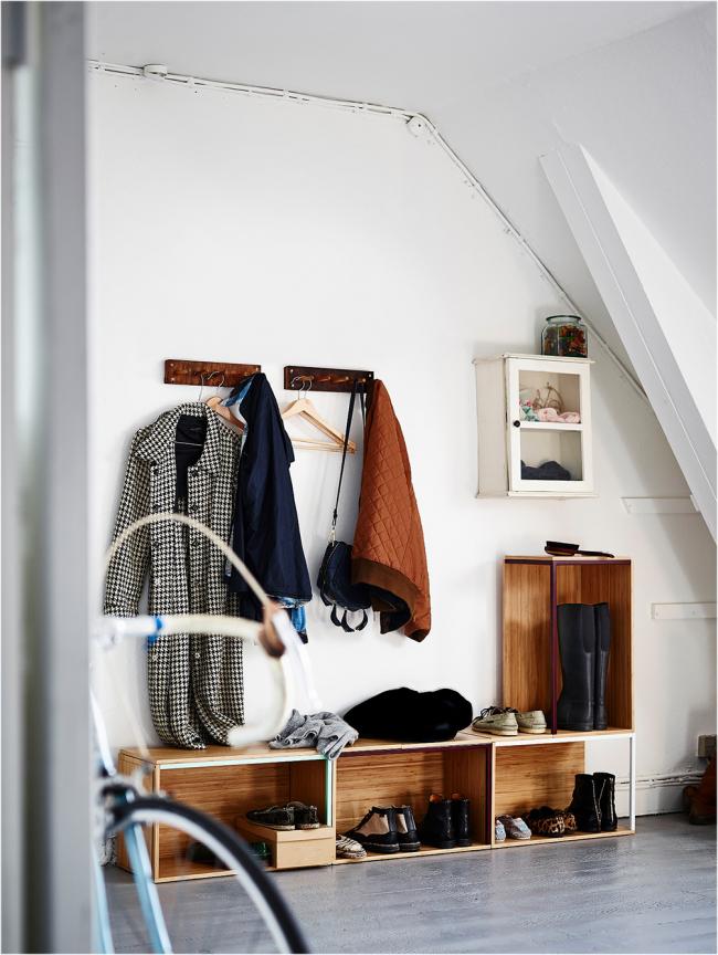 Мебель для прихожей в стиле минимализм от ИКЕА