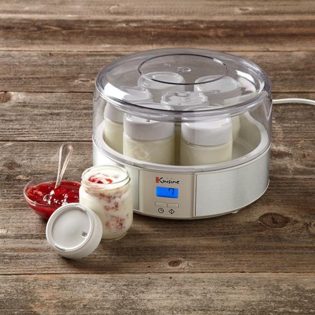 Йогуртница с функцией приготовления творога Euro Cuisine YM80 Yogurt Maker
