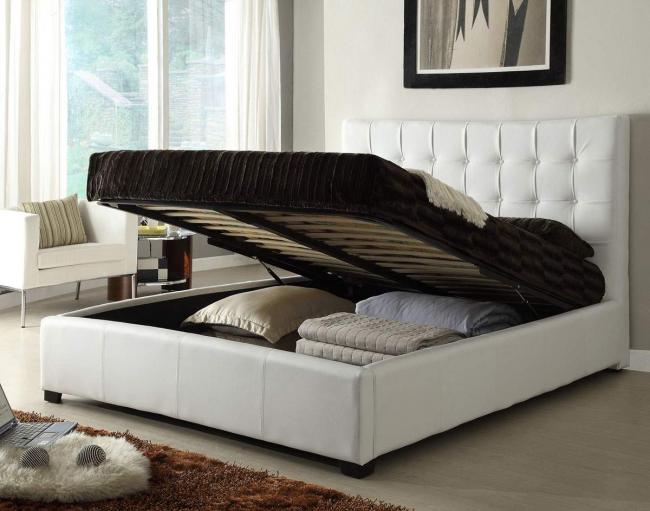 Кровати с подъемным механизмом - идеальный вариант для ценителей комфорта