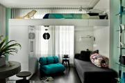 Фото 8 Кровать с подъемным механизмом: 80+ удобных вариантов для максимальной экономии пространства