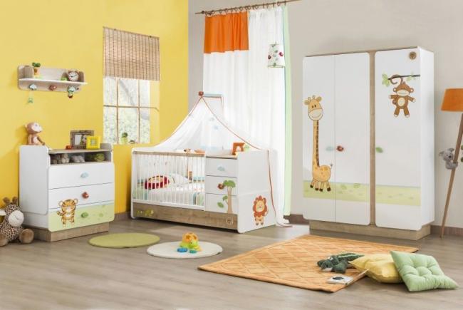 Самый необходимый и практичный комплект мебели для комнаты младенца