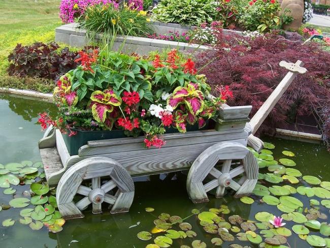 Садовый участок - это место, где можно реализовать собственный творческий потенциал