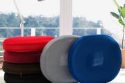 Фото 6 Подушки для сидения на стуле (110 фото): все тонкости выбора идеальной ортопедической и декоративной подушки