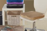 Фото 17 Подушки для сидения на стуле (110 фото): все тонкости выбора идеальной ортопедической и декоративной подушки