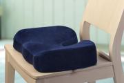 Фото 28 Подушки для сидения на стуле: все тонкости выбора идеальной ортопедической и декоративной подушки