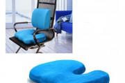 Фото 7 Подушки для сидения на стуле (110 фото): все тонкости выбора идеальной ортопедической и декоративной подушки