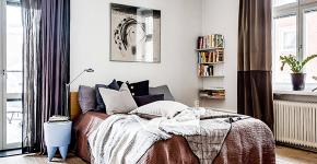 Портьеры для спальни: 90+ элегантных идей для спальной комнаты и советы по выбору фото