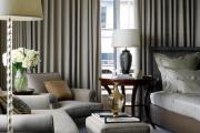 Фото 5 Портьеры для спальни: 90+ элегантных идей для спальной комнаты и советы по выбору