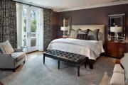 Фото 42 Портьеры для спальни: 90+ элегантных идей для спальной комнаты и советы по выбору