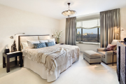 Фото 43 Портьеры для спальни: 90+ элегантных идей для спальной комнаты и советы по выбору