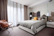 Фото 45 Портьеры для спальни: 90+ элегантных идей для спальной комнаты и советы по выбору