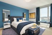 Фото 11 Портьеры для спальни: 90+ элегантных идей для спальной комнаты и советы по выбору