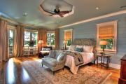 Фото 14 Портьеры для спальни: 90+ элегантных идей для спальной комнаты и советы по выбору