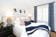 Фото 30 Портьеры для спальни: 90+ элегантных идей для спальной комнаты и советы по выбору