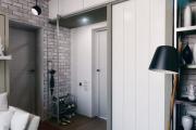 Фото 29 Прихожая в стиле лофт: 85 интерьерных идей для создания стильной входной зоны