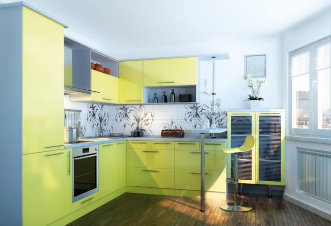 Самоклеящаяся пленка для мебели: разборные элементы мебели лучше декорировать отдельно. Особенно если речь идет о кухонном гарнитуре, состоящем из множества элементов