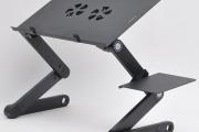 Фото 1 Складной столик-трансформер для ноутбука: обзор и сравнение максимально функциональных моделей
