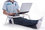Фото 23 Складной столик-трансформер для ноутбука: обзор и сравнение максимально функциональных моделей