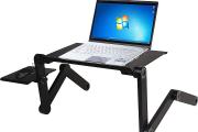 Фото 10 Складной столик-трансформер для ноутбука: обзор и сравнение максимально функциональных моделей