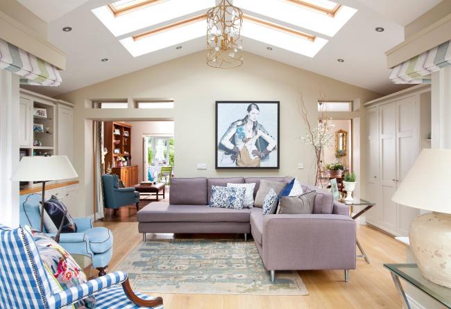 Угловой диван Амстердам - практичное решение для загородного дома или небольшой квартиры
