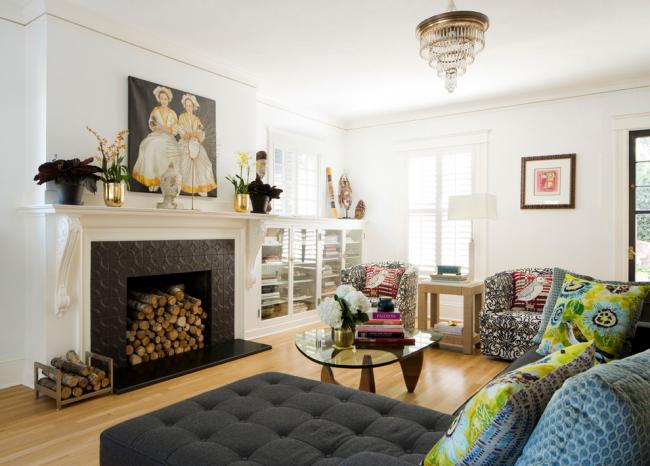 Угловые диваны позволяют вместить большое количество людей, поэтому их зачастую выбирают большие семьи