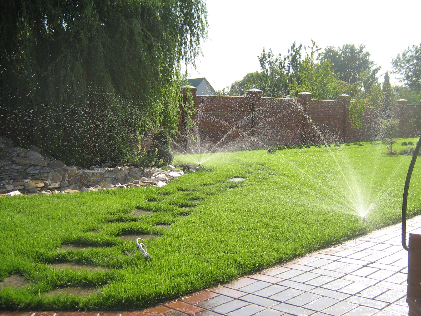 Системы полива для газона
