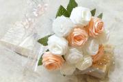 Фото 12 Цветы из атласных лент: пошаговые инструкции и мастер-классы по созданию букетов, топиариев и обручей