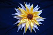 Фото 13 Цветы из атласных лент: пошаговые инструкции и мастер-классы по созданию букетов, топиариев и обручей