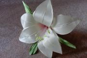 Фото 28 Цветы из атласных лент: пошаговые инструкции и мастер-классы по созданию букетов, топиариев и обручей