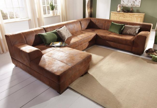 Стильный диван Лиссабон для большой комнаты