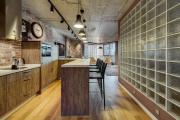 Фото 3 П-образные кухни: 80+ универсальных планировочных решений, которые сэкономят место и бюджет