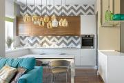 Фото 10 П-образные кухни: 80+ универсальных планировочных решений, которые сэкономят место и бюджет