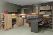 Фото 12 П-образные кухни: 80+ универсальных планировочных решений, которые сэкономят место и бюджет