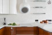 Фото 22 П-образные кухни: 80+ универсальных планировочных решений, которые сэкономят место и бюджет