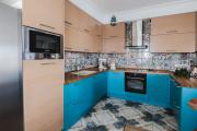 Фото 24 П-образные кухни: 80+ универсальных планировочных решений, которые сэкономят место и бюджет