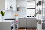 Фото 34 П-образные кухни: 80+ универсальных планировочных решений, которые сэкономят место и бюджет