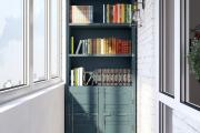Фото 16 Шкаф на балкон: нюансы подбора и обзор максимально функциональных вариантов