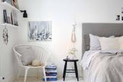 Фото 12 Белые обои в интерьере: трендовые дизайнерские решения и как гармонично сочетать акценты?