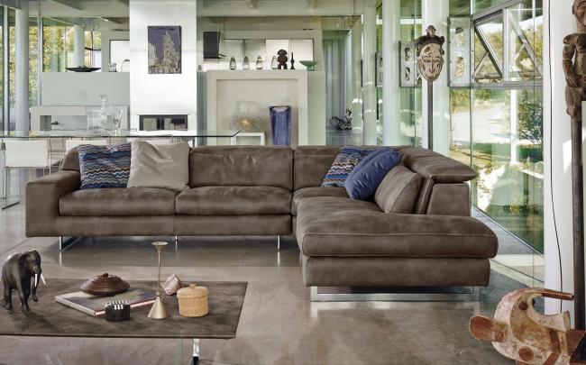 Роскошный диван Чикаго угловой станет центром внимания в вашей гостиной