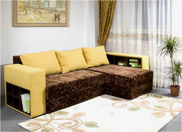 Текстильная яркая обивка создает настроение помещения