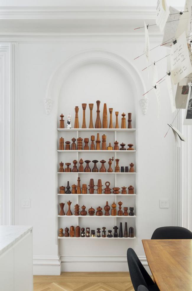 Оригинальная коллекция резных деревянных мельниц для специй