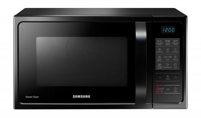 Микроволновая печь Samsung станет незаменимым полноценным кухонным помощником