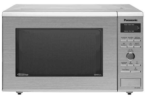 Отдельностоящая инверторная микроволновая печь с грилем. Кнопочное управление + поворотный переключатель
