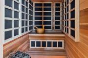 Фото 2 Мини-бани (95+ фото): обзор готовых современных проектов и все этапы постройки